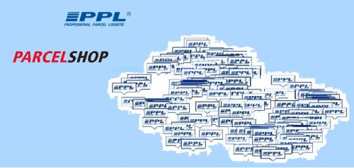 výdejní místa PPL Parcelshop