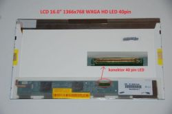 """Asus K62JR display 16"""" WXGA HD 1366x768"""