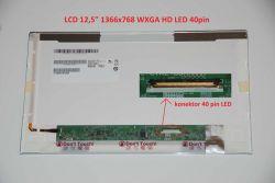 """Display LTN125AT02 12.5"""" 1366x768 LED 40pin"""