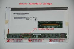 "Display B101EW02 V.0 10.1"" 1270x720 LED 40pin"