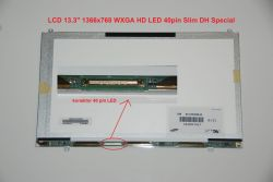 "Display LTN133AT23-801 13.3"" 1366x768 LED 40pin Slim DH Special"