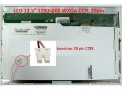 "Display B133EW01 V.0 13.3"" 1280x800 CCFL 20pin"