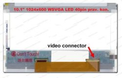 "Display HSD101PFW1-REV.0 LCD 10.1"" 1024x600 WSVGA LED 40pin prav. kon."