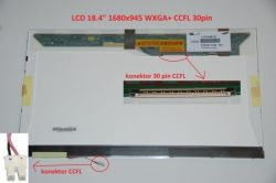 """Display LTN184KT01-S01 18.4"""" 1680x945 CCFL 30pin"""