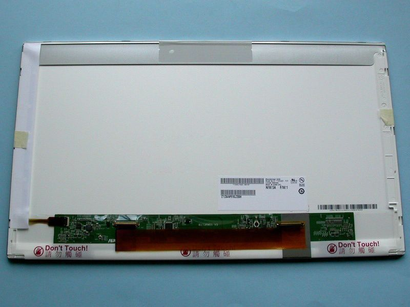"LTN156AT03-001 LCD 15.6"" 1366x768 WXGA HD LED 40pin pravý kon. display displej"