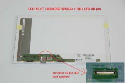 """Dell Inspiron PP41L display 15.6"""" LED LCD displej WXGA++ HD+ 1600x900"""